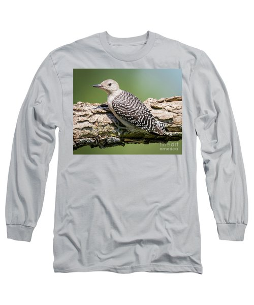 Juvenile Red-bellied Woodpecker Long Sleeve T-Shirt