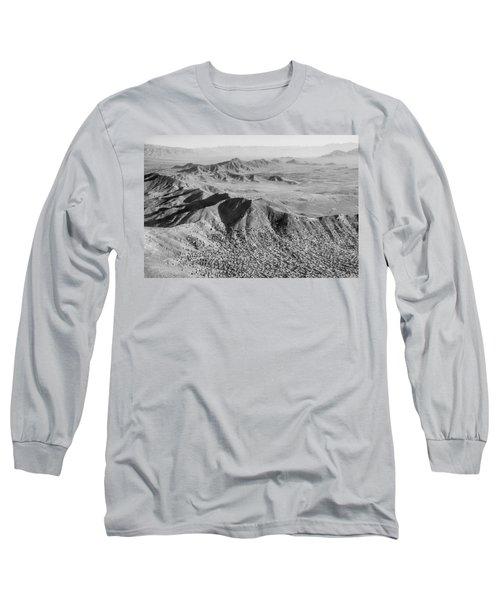Kabul Mountainous Urban Sprawl Long Sleeve T-Shirt