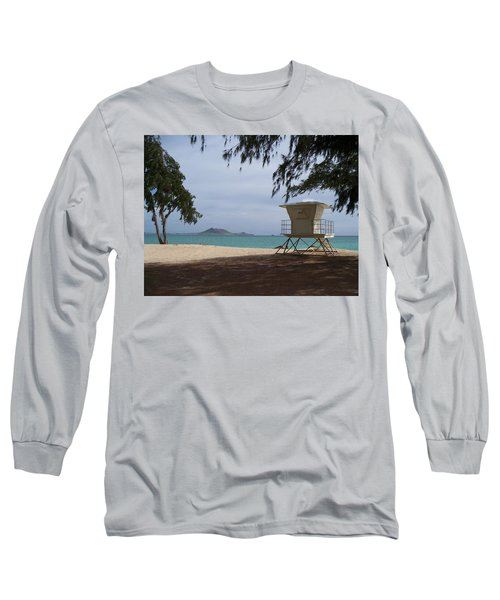 Kailua Beach Long Sleeve T-Shirt