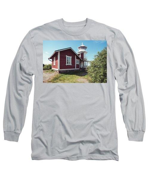 Long Sleeve T-Shirt featuring the photograph Kallo Lighthouse by Ari Salmela