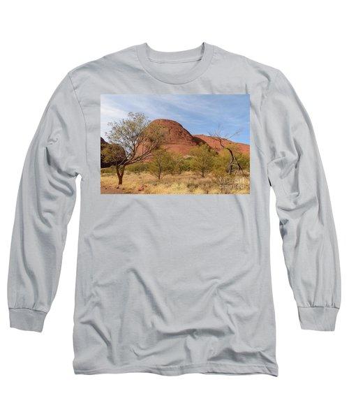 Long Sleeve T-Shirt featuring the photograph Kata Tjuta 05 by Werner Padarin