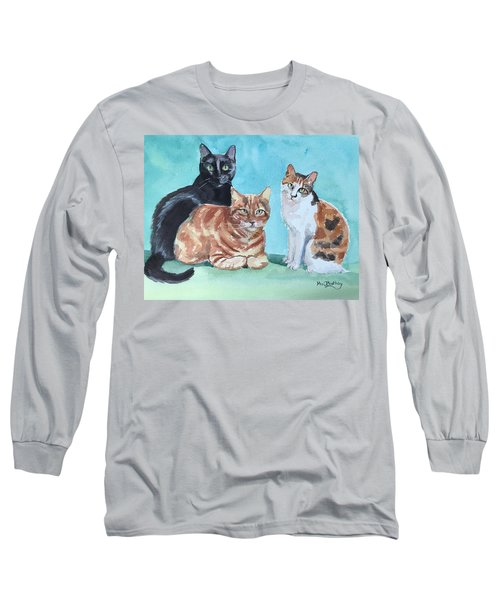 Kates's Cats Long Sleeve T-Shirt