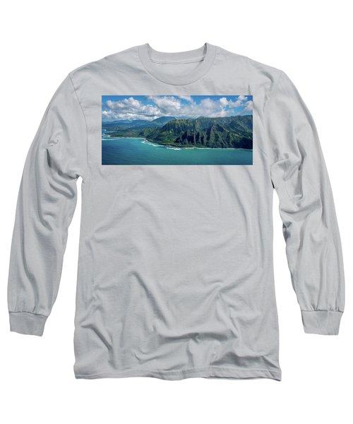 Kawaii Na Pali Coast  Long Sleeve T-Shirt