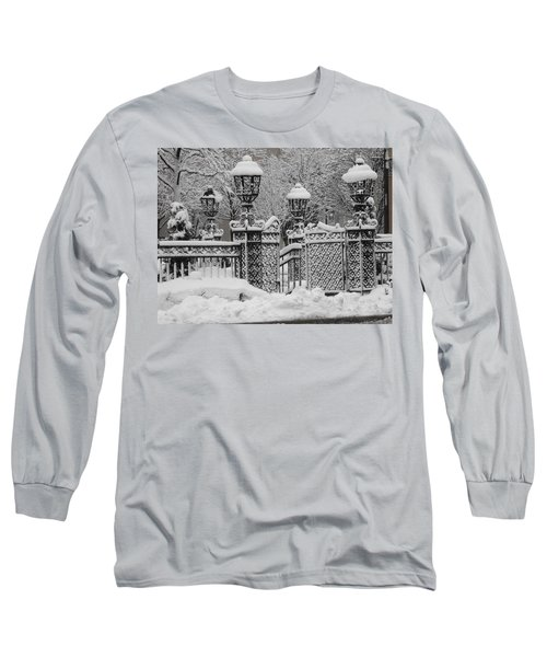 Kc Plaza Is Art In The Snow Long Sleeve T-Shirt