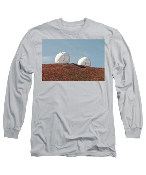 Keck 1 And Keck 2 Long Sleeve T-Shirt by Jim Thompson