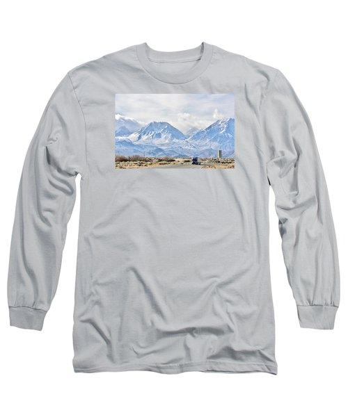 Keep On Trucking Long Sleeve T-Shirt by Marilyn Diaz