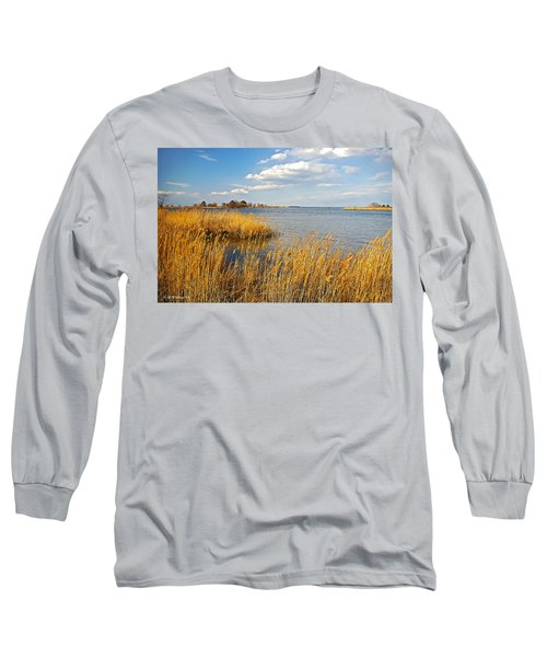 Kent Island Long Sleeve T-Shirt by Brian Wallace