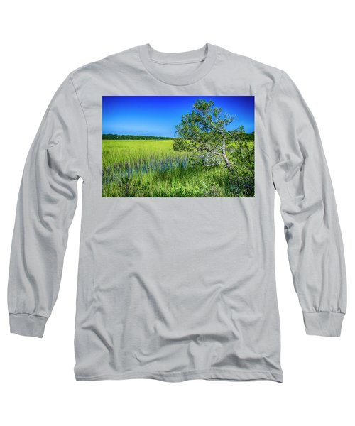 Kent Mitchell Nature Trail, Bald Head Island Long Sleeve T-Shirt