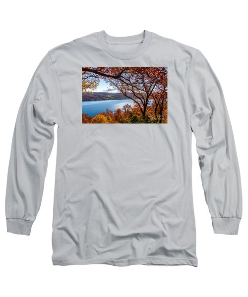 Keuka Lake Vista Long Sleeve T-Shirt by William Norton