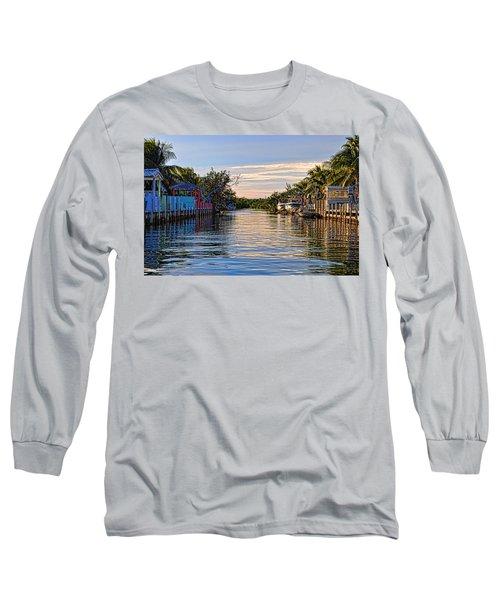 Key Largo Canal Long Sleeve T-Shirt