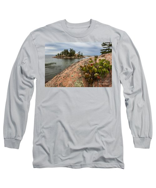 Killarney-island-pink-4530 Long Sleeve T-Shirt