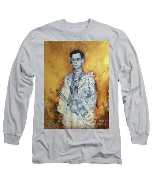 King Phumiphol Long Sleeve T-Shirt