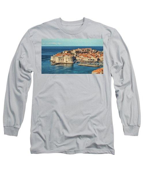 Kings Landing Dubrovnik Croatia - Dwp512798 Long Sleeve T-Shirt