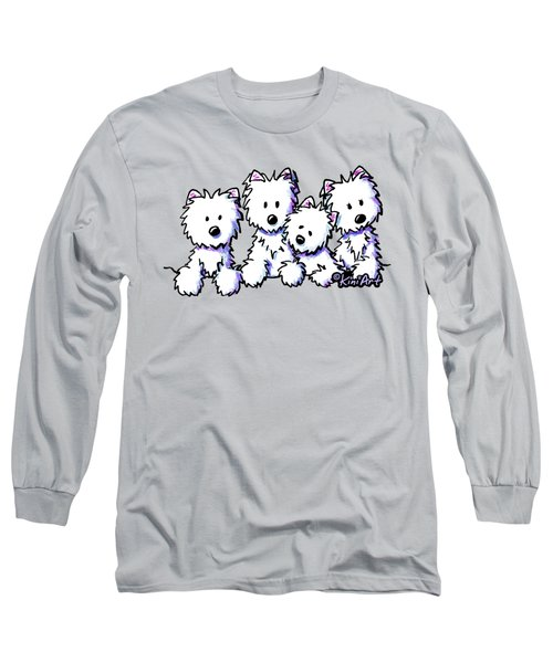 Kiniart Pocket Pawsse Long Sleeve T-Shirt
