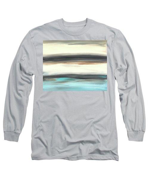La Jolla #2 Seascape Landscape Original Fine Art Acrylic On Canvas Long Sleeve T-Shirt