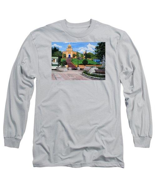 La Plaza De Moca Long Sleeve T-Shirt