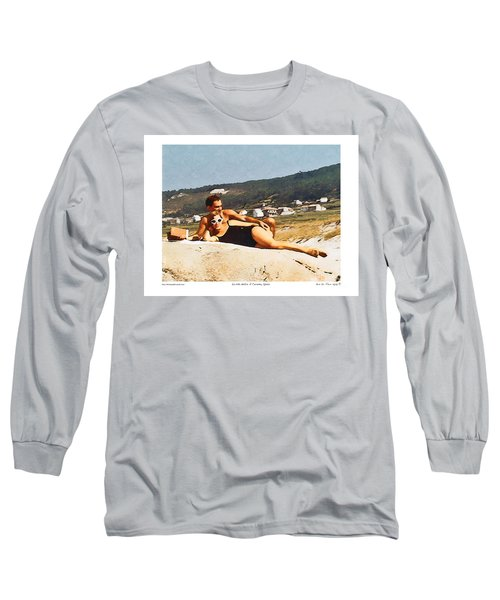 La Vida Dulce,the Sweet Life Long Sleeve T-Shirt by Kenneth De Tore