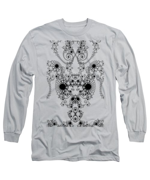 Lace Long Sleeve T-Shirt by Steve Purnell