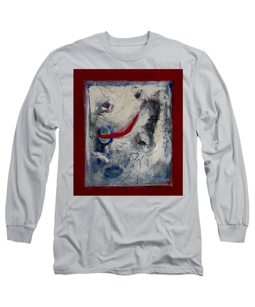 Lady Deciding Long Sleeve T-Shirt