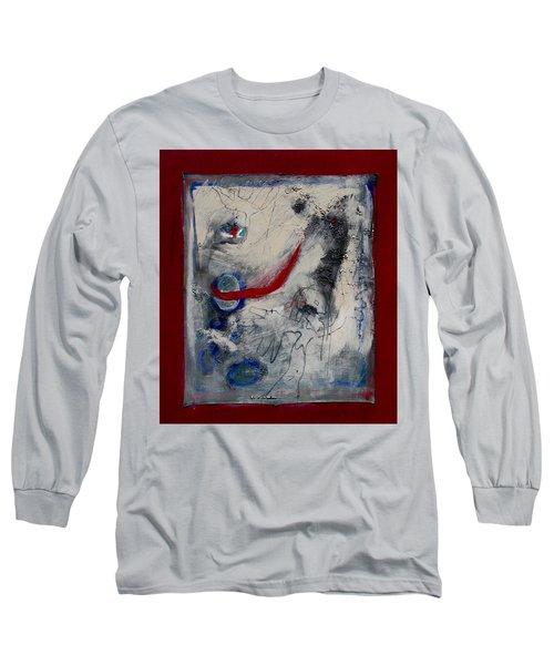 Lady Deciding Long Sleeve T-Shirt