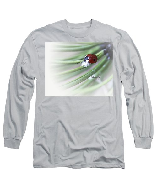 Ladybug On Pine Long Sleeve T-Shirt