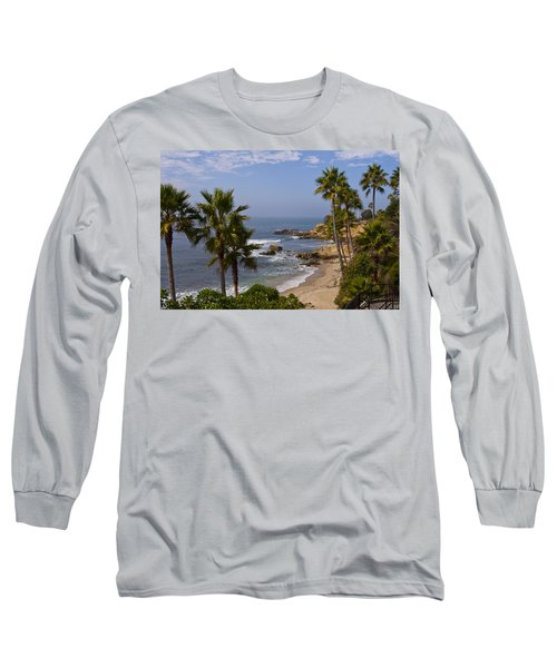 Laguna Beach Coastline Long Sleeve T-Shirt