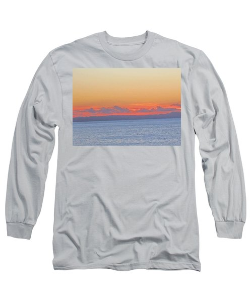 Laguna Orange Sky Long Sleeve T-Shirt