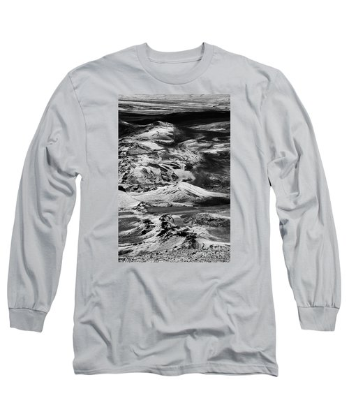 Long Sleeve T-Shirt featuring the photograph Lakagigar Iceland by Rudi Prott