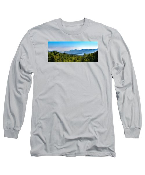 Lake George, Ny And The Adirondack Mountains Long Sleeve T-Shirt