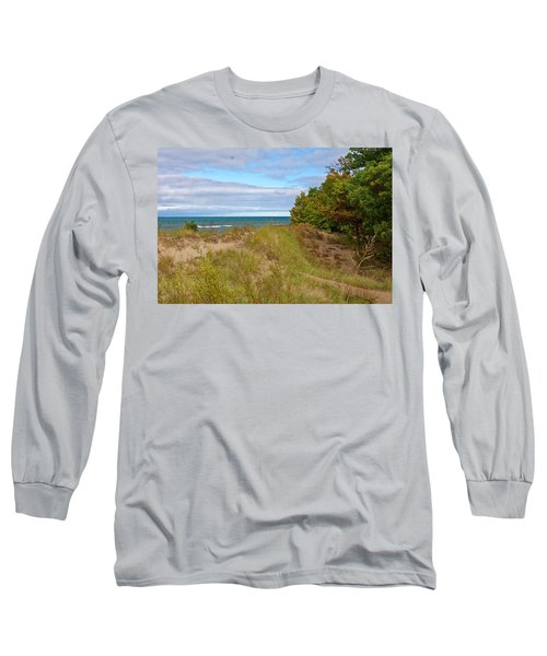 Lake Michigan Shore Long Sleeve T-Shirt