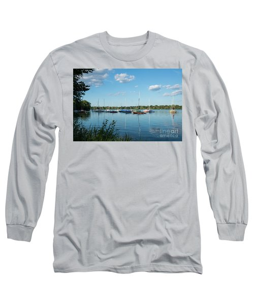 Lake Nokomis Minneapolis City Of Lakes Long Sleeve T-Shirt