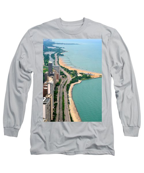 Lake Shore Dr . Chicago Long Sleeve T-Shirt