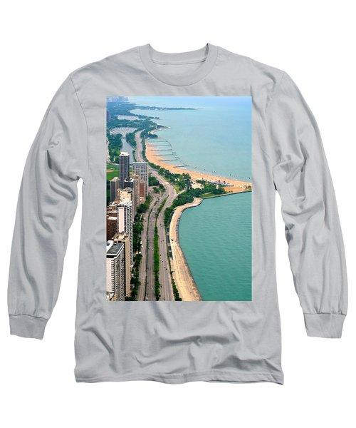 Lake Shore Dr . Chicago Long Sleeve T-Shirt