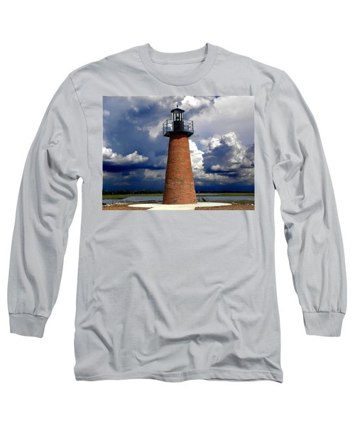 Lake Toho Lighthouse 002  Long Sleeve T-Shirt