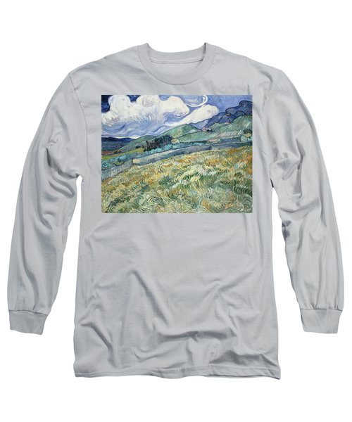 Landscape From Saint Remy  Long Sleeve T-Shirt