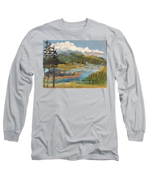Landscape No._2 Long Sleeve T-Shirt