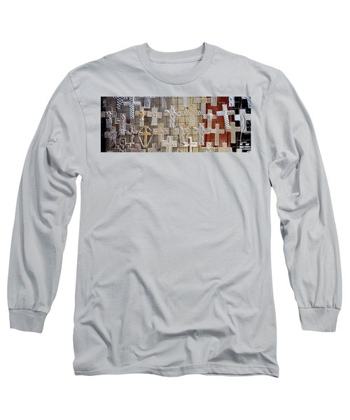 Large Group Of Crucifixes, San Miguel Long Sleeve T-Shirt