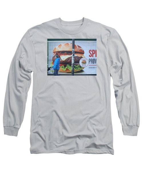 Larger Than Life Long Sleeve T-Shirt