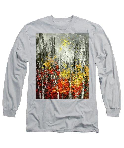 Last Dance Long Sleeve T-Shirt by Tatiana Iliina