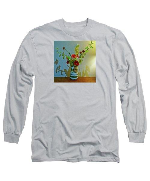 Last Of Summer Long Sleeve T-Shirt by Anne Kotan
