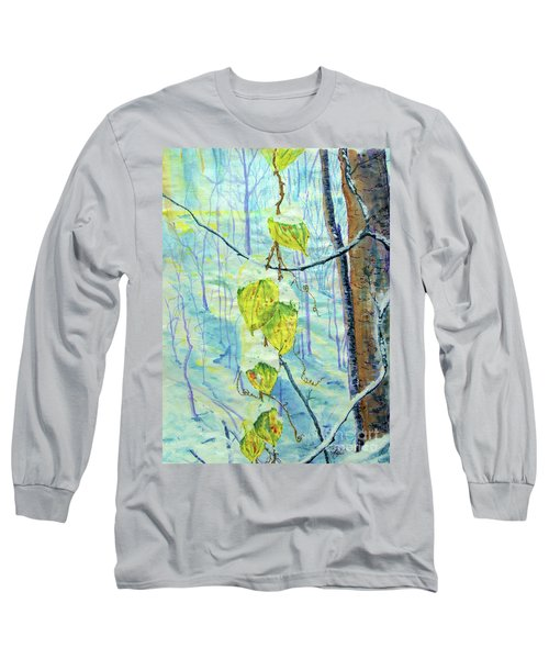Last Of The Leaves Long Sleeve T-Shirt