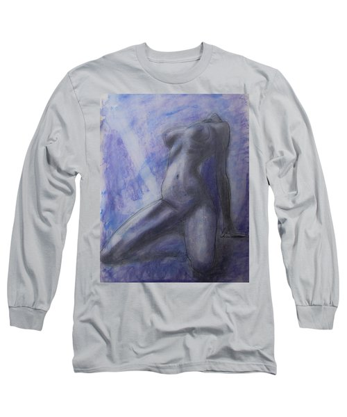 Long Sleeve T-Shirt featuring the painting Last Ride Of The Day by Jarko Aka Lui Grande