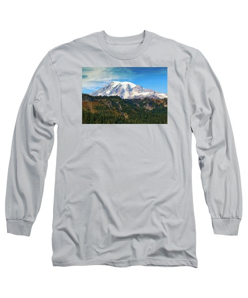 Long Sleeve T-Shirt featuring the photograph Late Afternoon by Lynn Hopwood