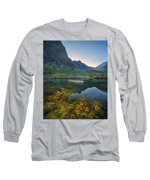 Long Sleeve T-Shirt featuring the photograph Late Summer by Maciej Markiewicz