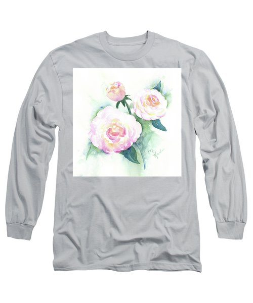 Late Summer Roses Long Sleeve T-Shirt