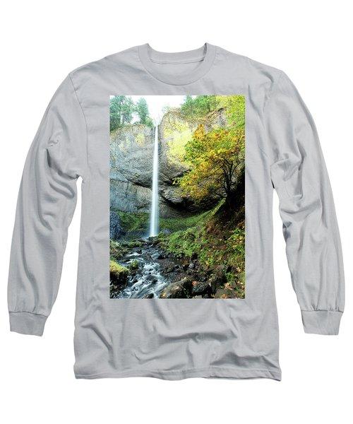 Latourell Falls Long Sleeve T-Shirt