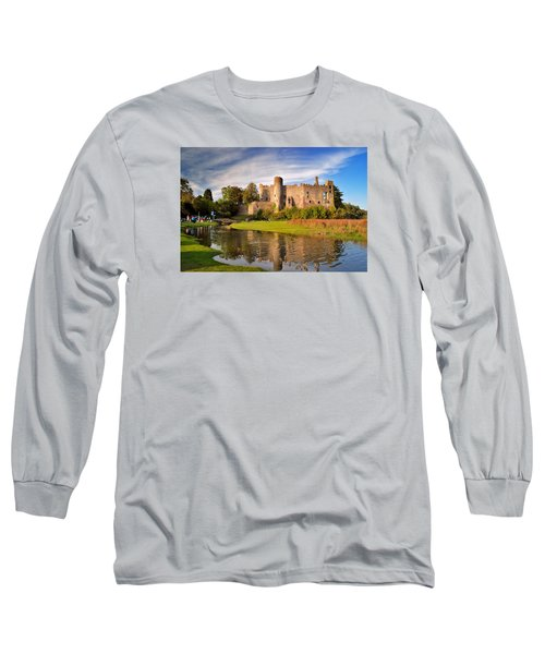 Laugharne Castle 1 Long Sleeve T-Shirt