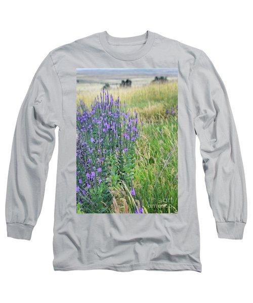 Lavender Hills Long Sleeve T-Shirt