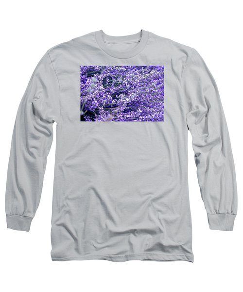 Lavender Long Sleeve T-Shirt
