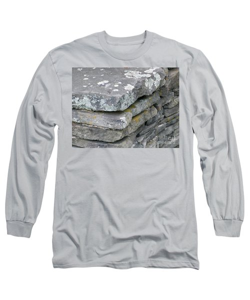 Layered Rock Wall Long Sleeve T-Shirt
